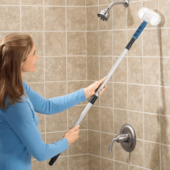 Bathroom wall tile cleaner