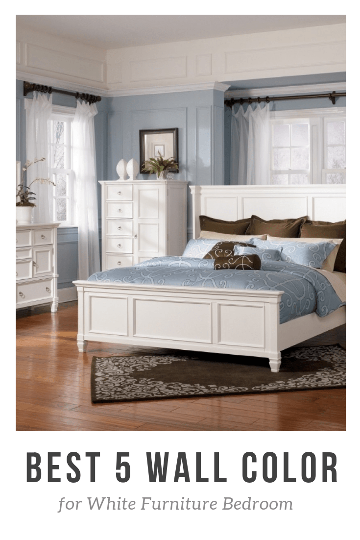 Best 5 Wall Color for White Furniture Bedroom