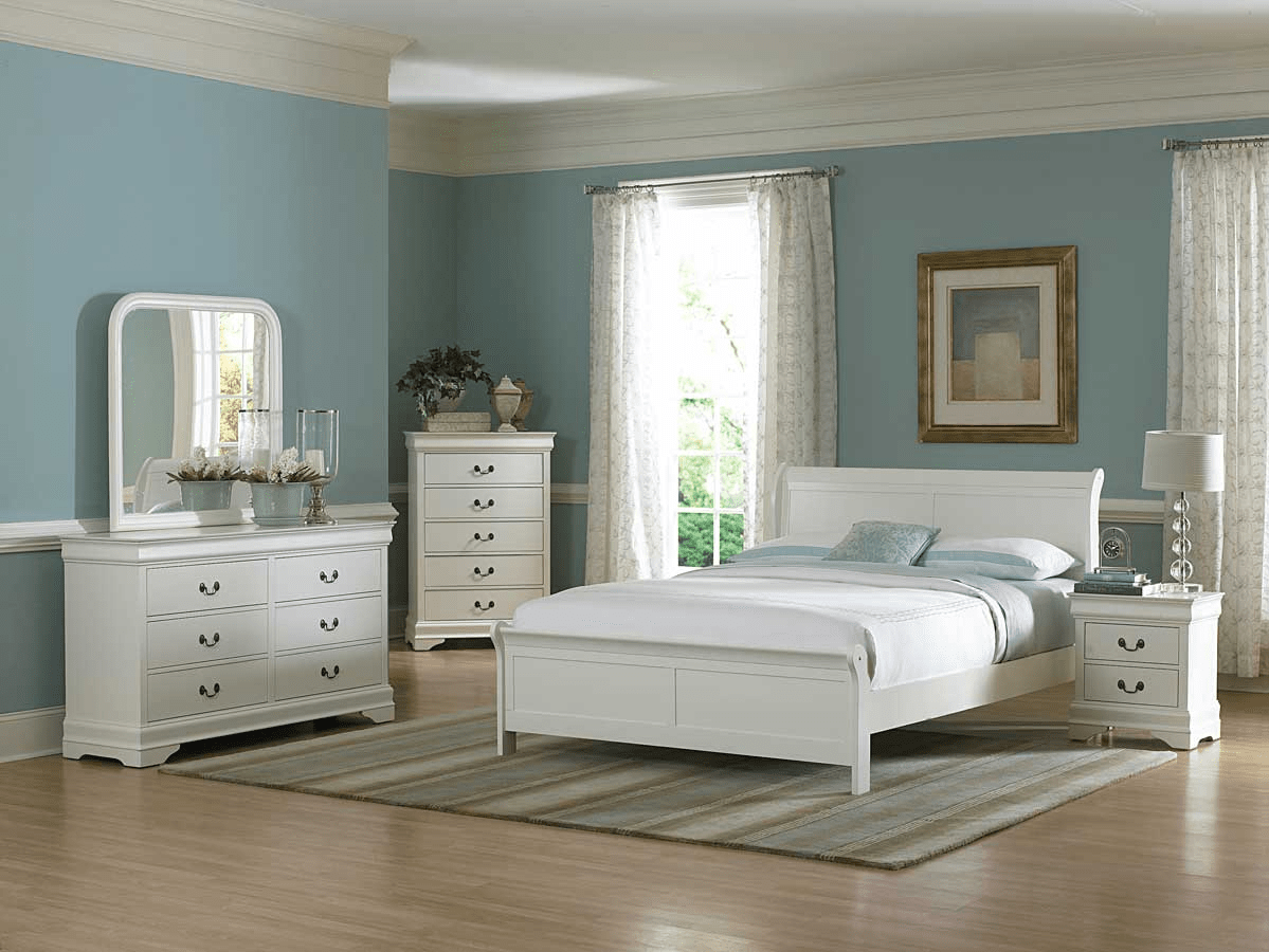 Best Wall Color for White Bedroom Furniture