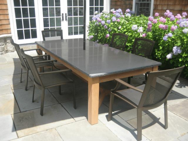 Bluestone table top care
