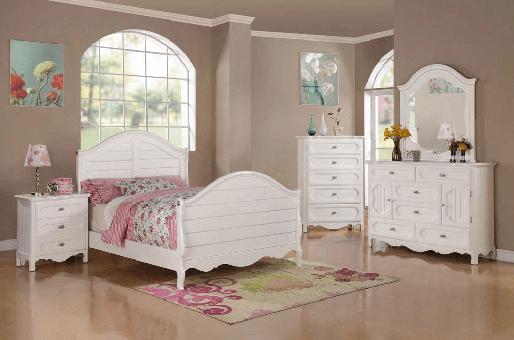 Childs white bedroom furniture