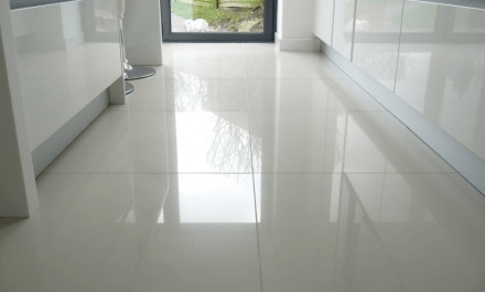 Clean floor tile grout easy way