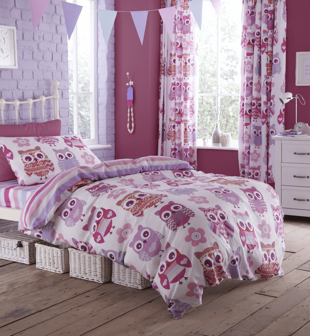 Curtain duvet bedroom sets