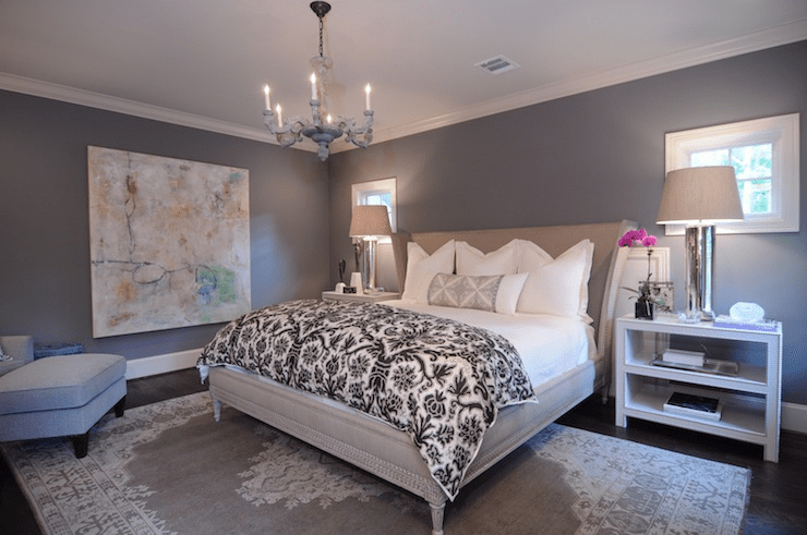 Decorating ideas for a grey bedroom