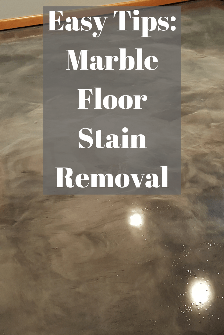 Easy Tips Marble Floor Stain Removal