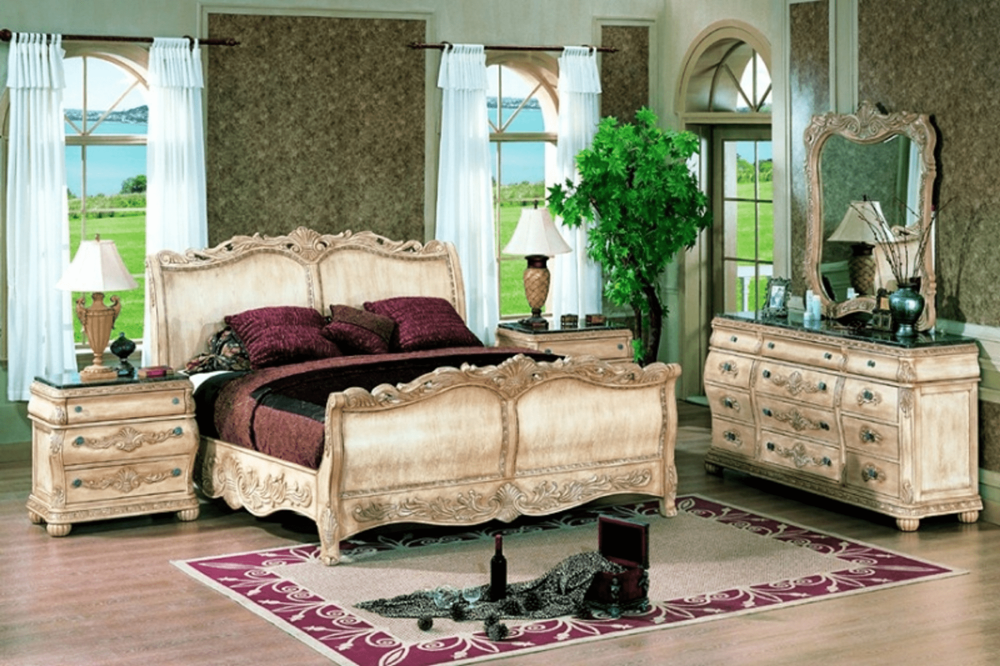 Bedroom Sets With Marble Tops Picture Of 3 Piece Coffee Table Set Black Faux Marble Top B188