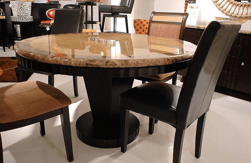 Granite top breakfast table