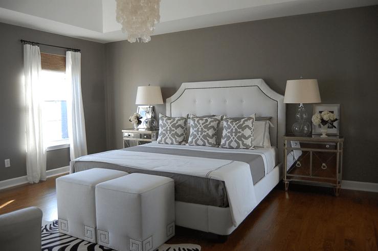 Grey bedroom paint designs