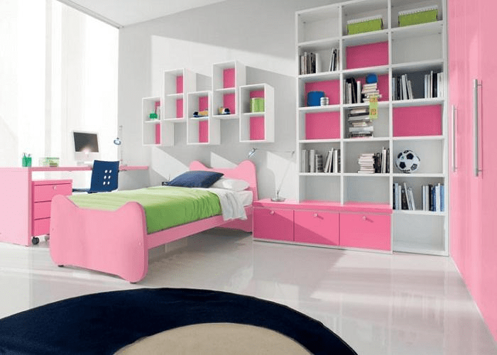 How to decorate small bedroom for teenage girl