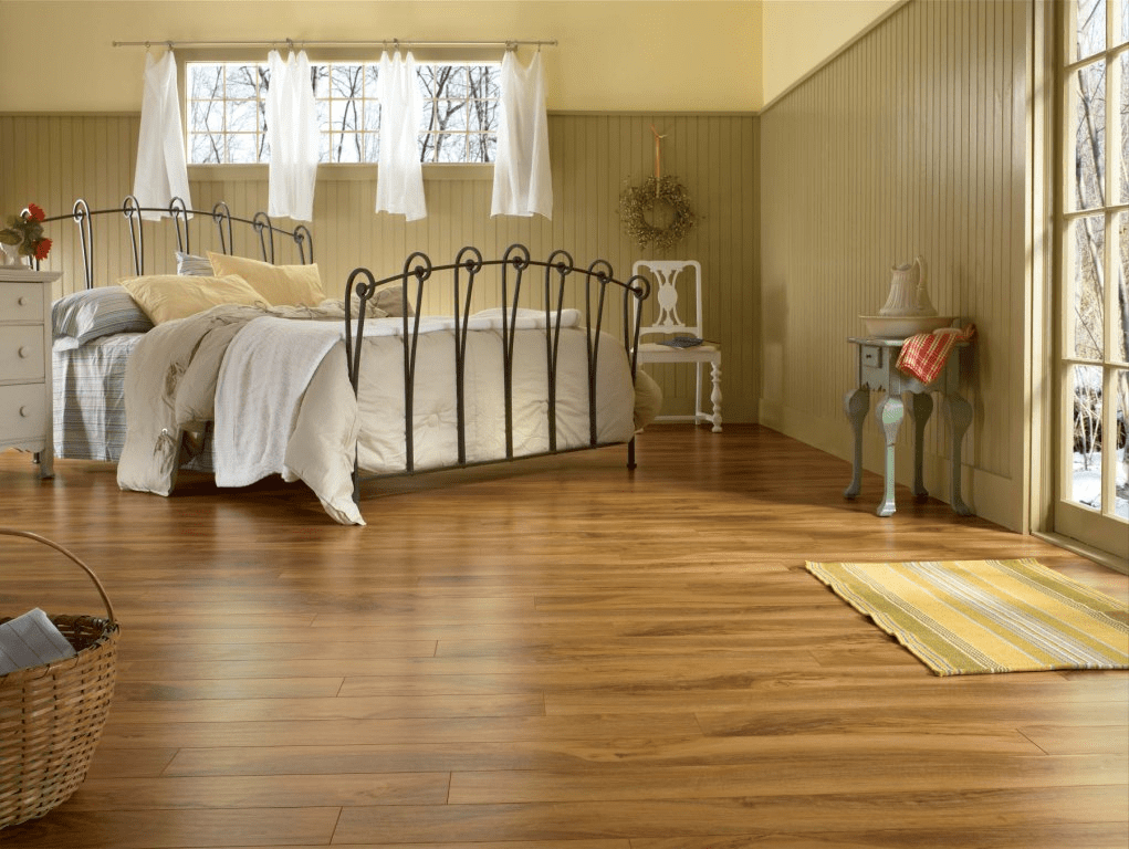 Laminate flooring design patterns for bedroom