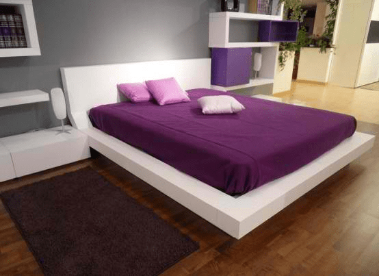 Mixing furniture colors in bedroom
