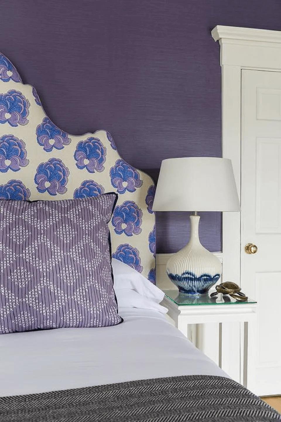 Purple master bedroom ideas romantic