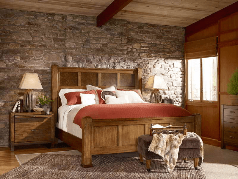 Rustic bedroom wall decor ideas