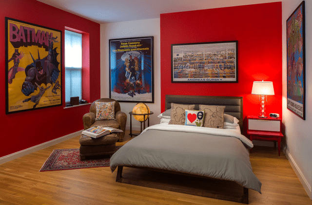 Superhero bedroom decorating ideas