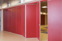 Tall cubicle walls with doors