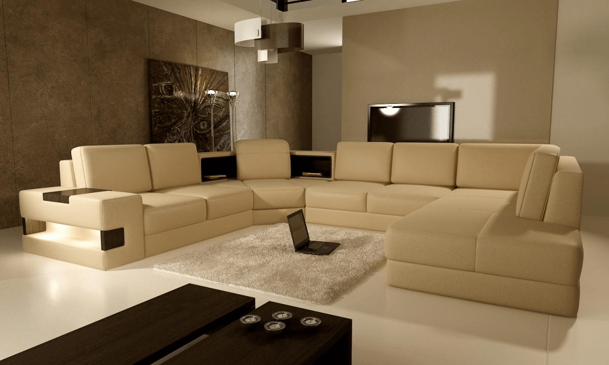 Wall color ideas for living room with brown furniture