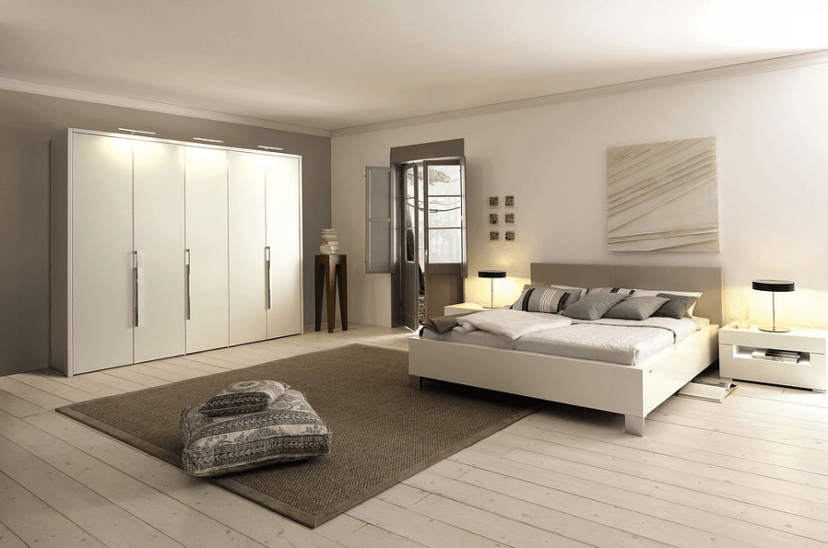 White bedroom decorating ideas pictures