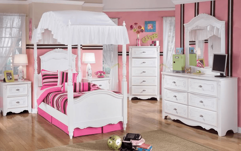 White little girl bedroom furniture