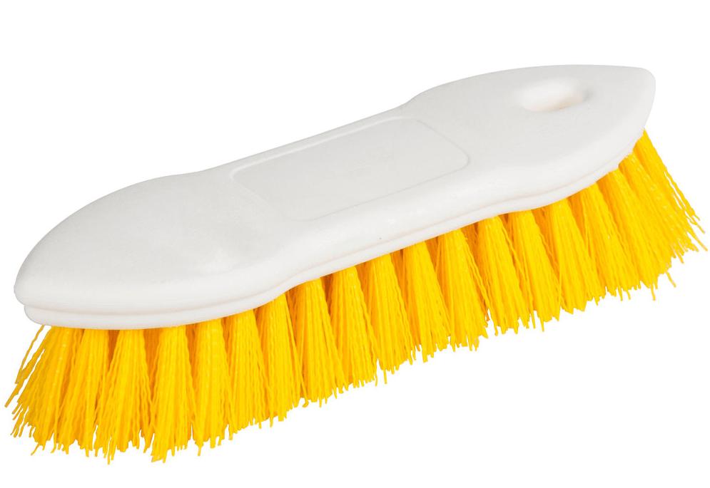 Yellow scrub brush