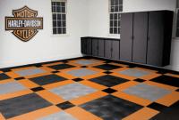 Love it. Garage floor design pictures harley davidson motor cyles