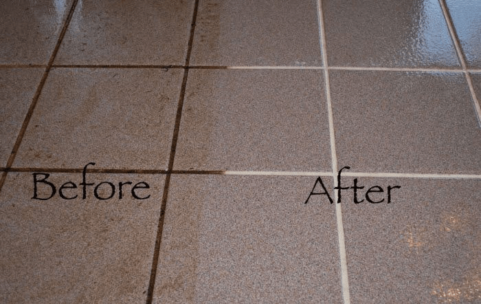How to Clean Floor Grout without Scrubbing?