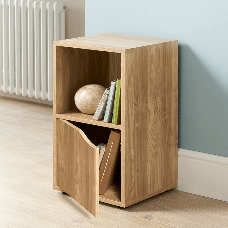 2 cube storage shelves