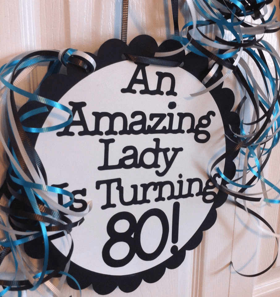 80th bday party ideas
