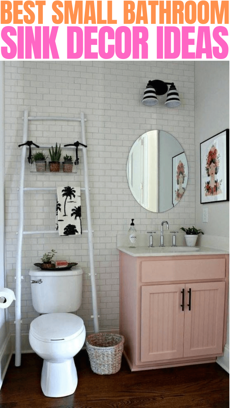BEST SMALL BATHROOM SINK DECOR IDEAS
