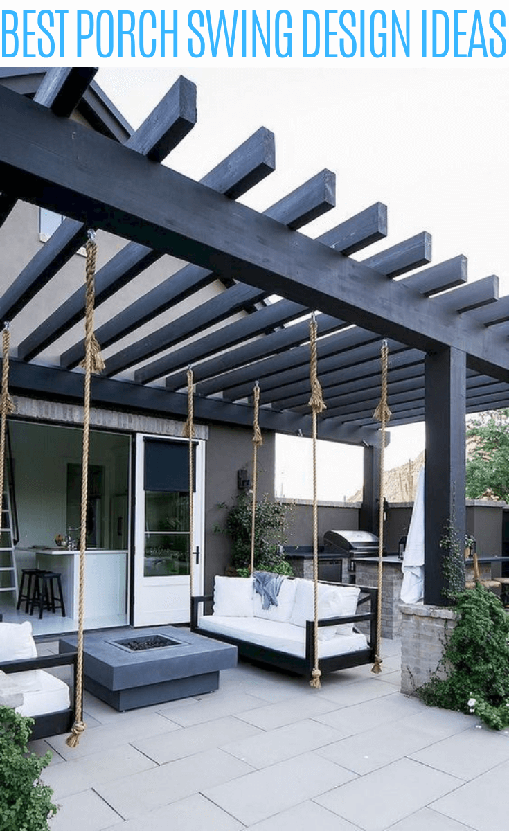Best porch swing design ideas