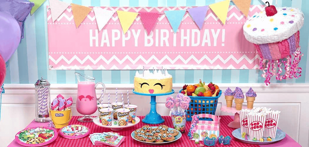 Birthday party decoration ideas for girl