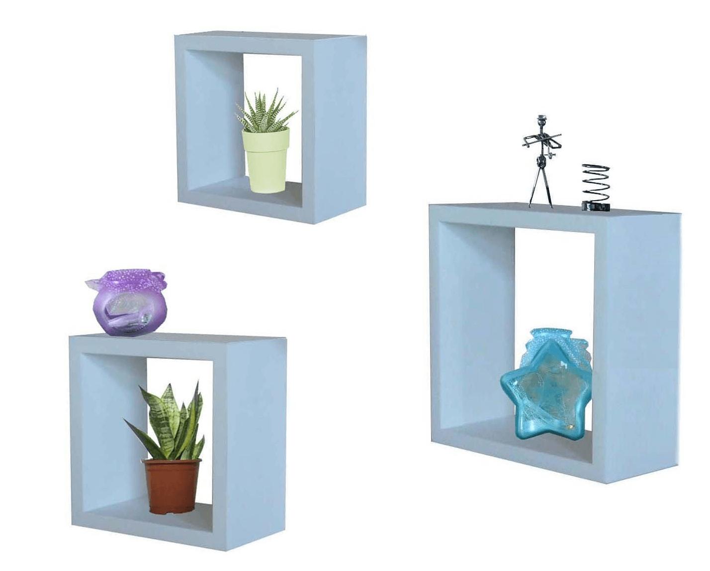 Cube shelf decor ideas