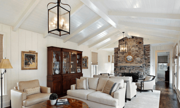 Decorate Large Wall Vaulted Ceiling Easyhometips Org