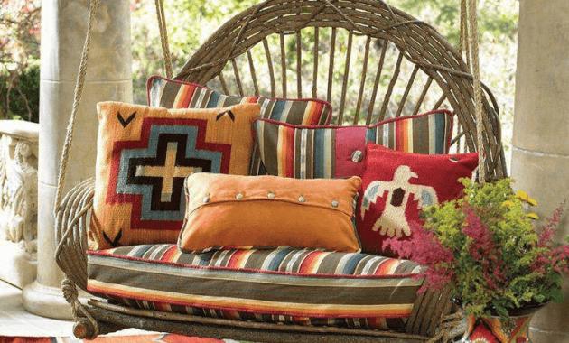 Decorative porch swings