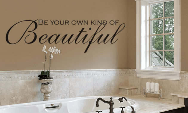Different ways how to decorate a bathroom wall - Ways to decorate bathroom ...