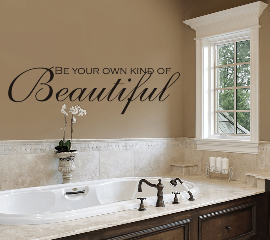 Different ways how to decorate a bathroom wall - How to decorate your bathroom ...