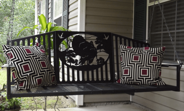 Engraved Porch Swing