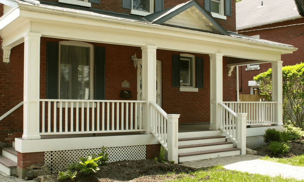 Awesome Front Porch Railing Ideas Pictures