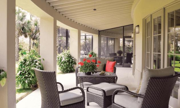 Front porch table ideas