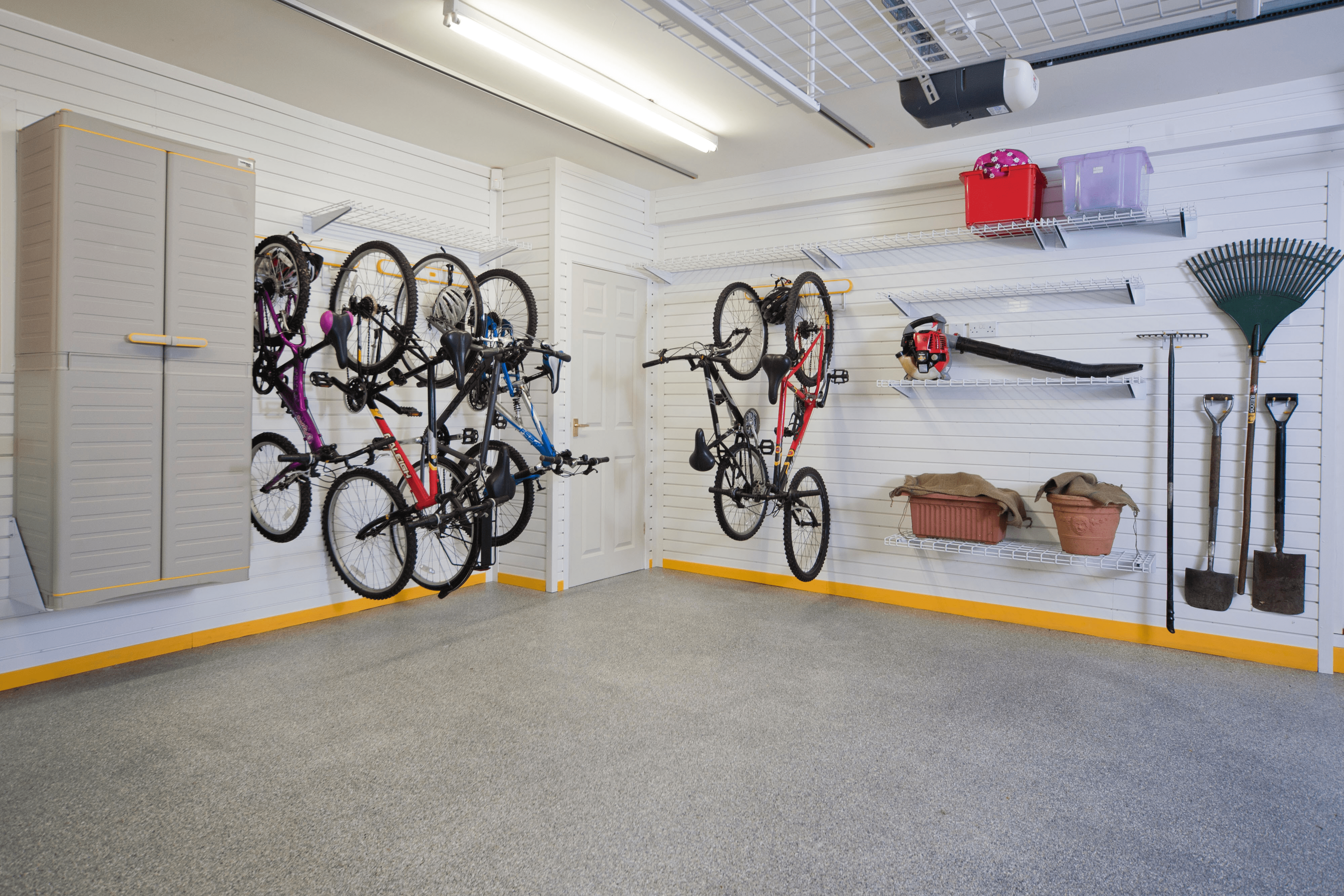 Garage wall decorating ideas