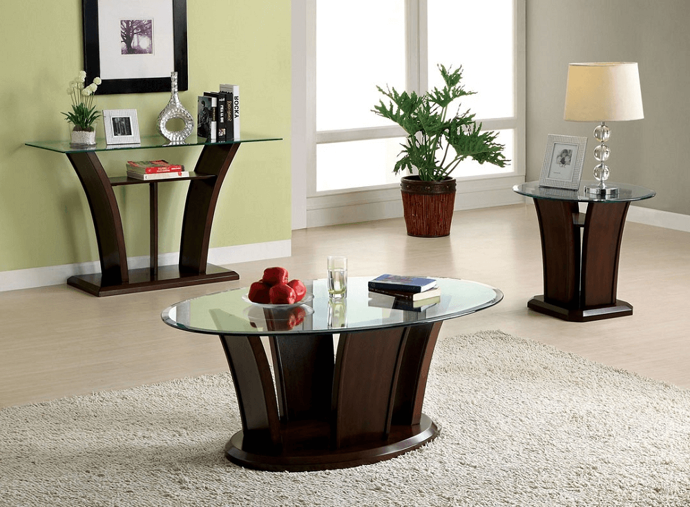 the strategies on how to decorate a glass top coffee table