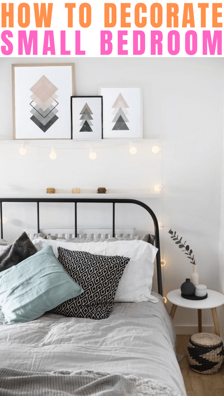 HOW TO DECORATE SMALL BEDROOM