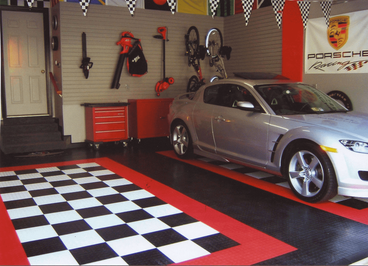 How to Decorate A Garage Wall