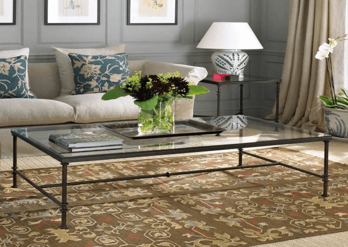 How to Decorate A Glass Top Coffee Table