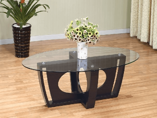How to Decorate A Round Glass Coffee Table