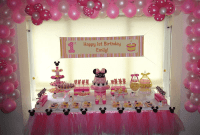 How to Decorate First Birthday Girl Party