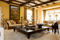 How to Decorate a Large Square Coffee Table