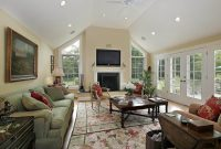 How to Decorate a Large Wall with Vaulted Ceilings