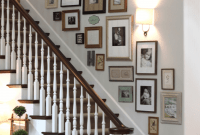 How to Decorate a Stairway Wall