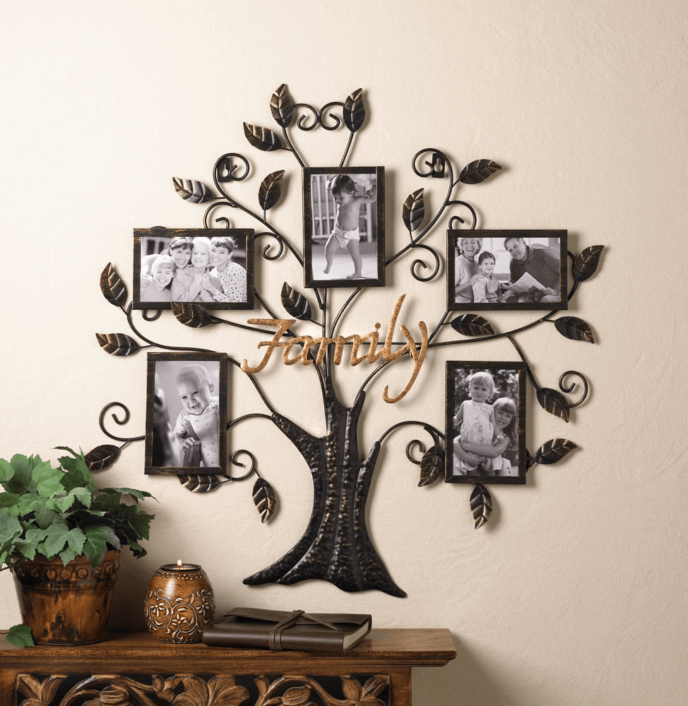 How to Decorate a Wall with Photos