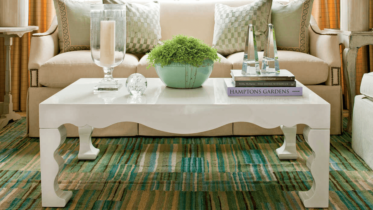 How to decor a coffee table